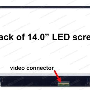 14LED 40p HD Slim 1600x900 B140RW02 V.0 Connector Right