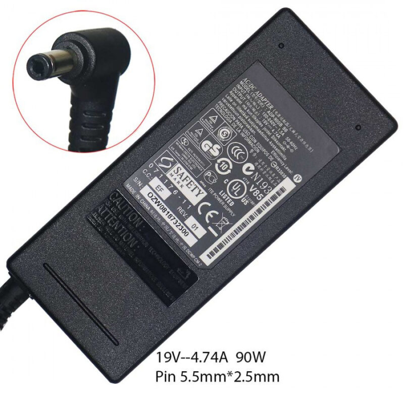 OEM Asus 19V 4.74A (5.5 x 2.5) Power Adapter