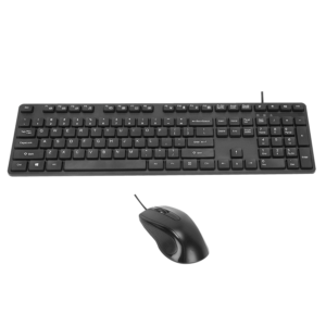 USB Wired Keyboard & Mouse Bundle