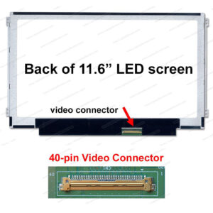 11.6 LED Panel 40 Pin Left/Right B116XW01 v.0  /  N116BGE-L42