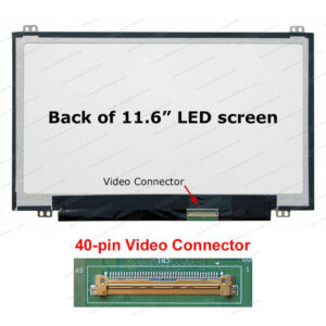 11.6 LED Panel 40 Pin Up/Down B116xw03 v.2 / N116BGE-L42