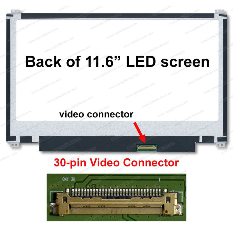 11.6 LED Panel 30Pin Slim Up/Down  1366 x 768