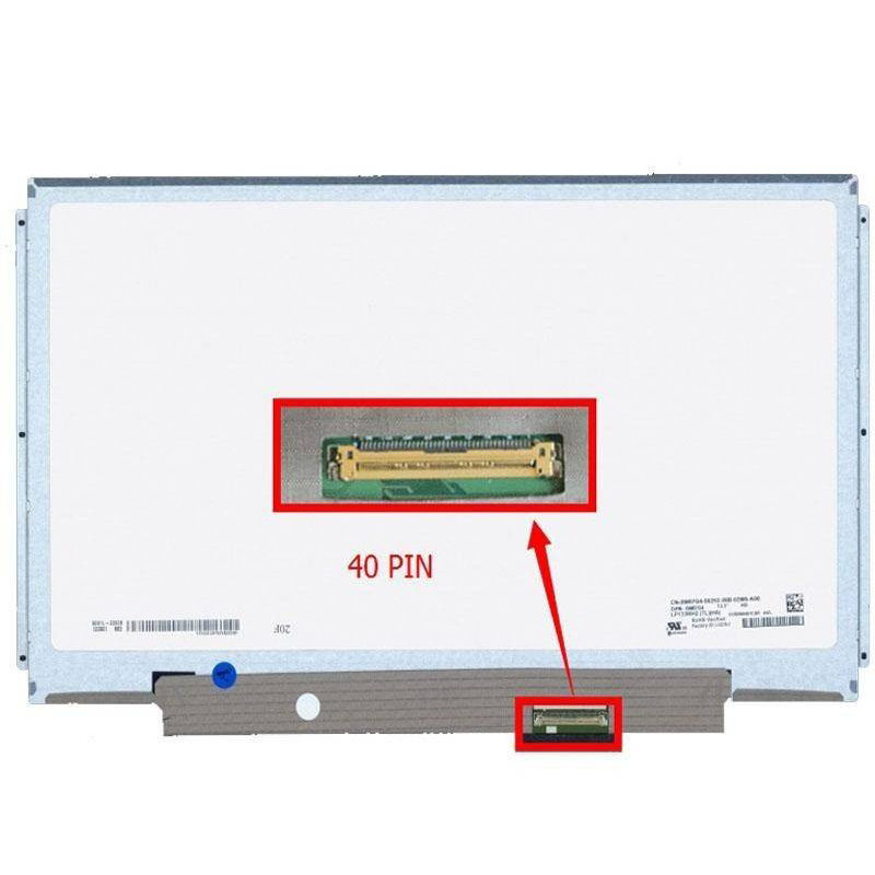 "13.3"" Slim 40Pin with Rail N133BGE-L41 Screen"