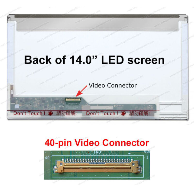 14.0 LED Panel 40Pin N140BGE-L23