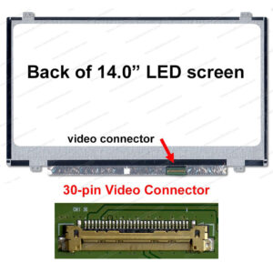 14 LED Panel  Slim 30 Pin N140BGE-E43 1366 x 768