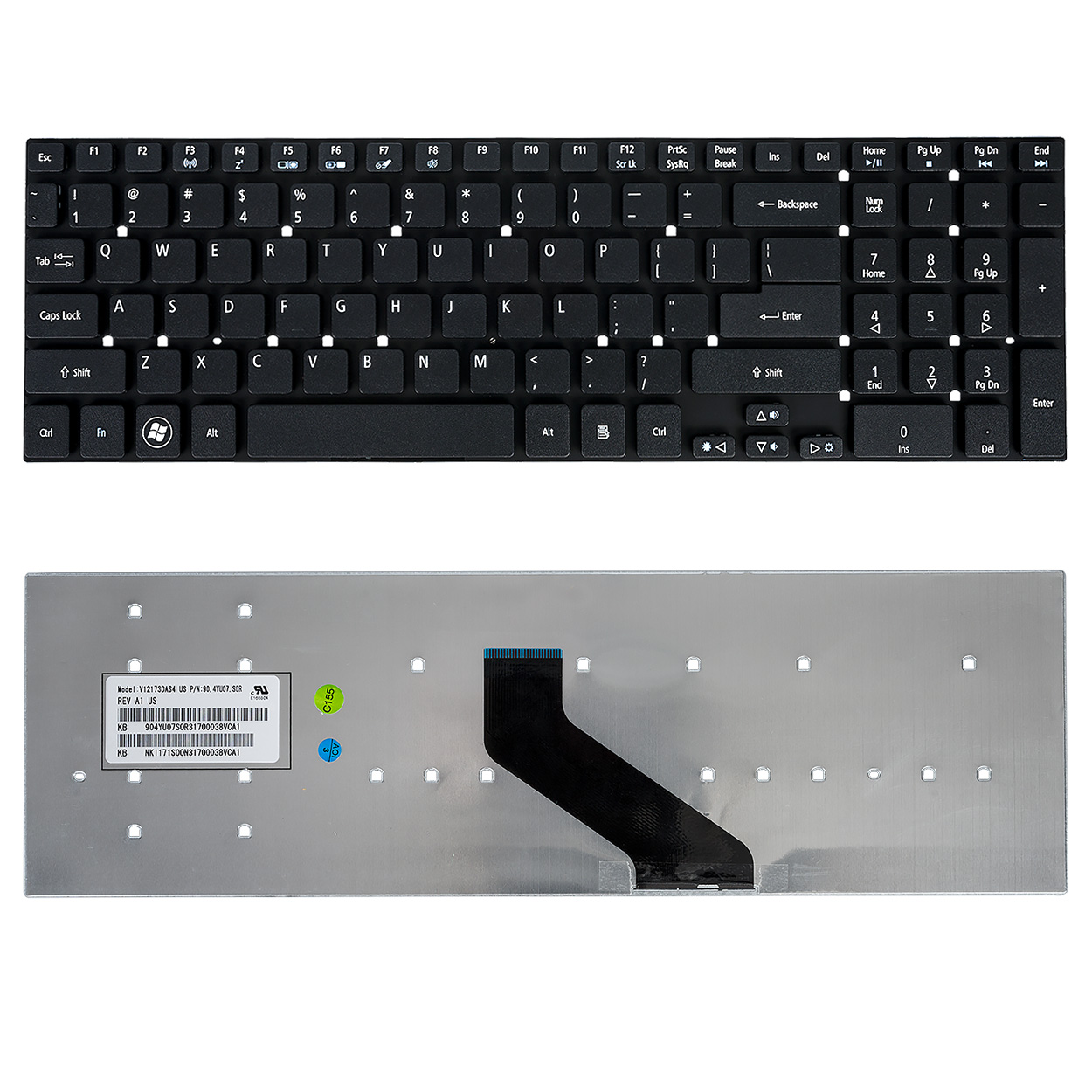 Laptop Keyboard Acer Aspire 5755g