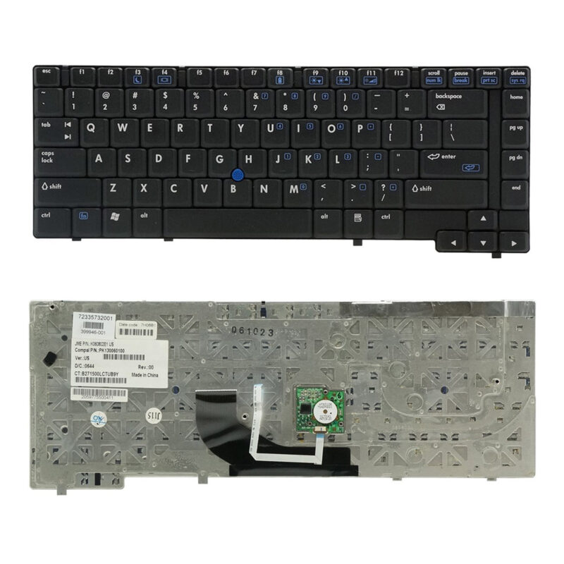 HP Compaq NC6400 US Black Keyboard