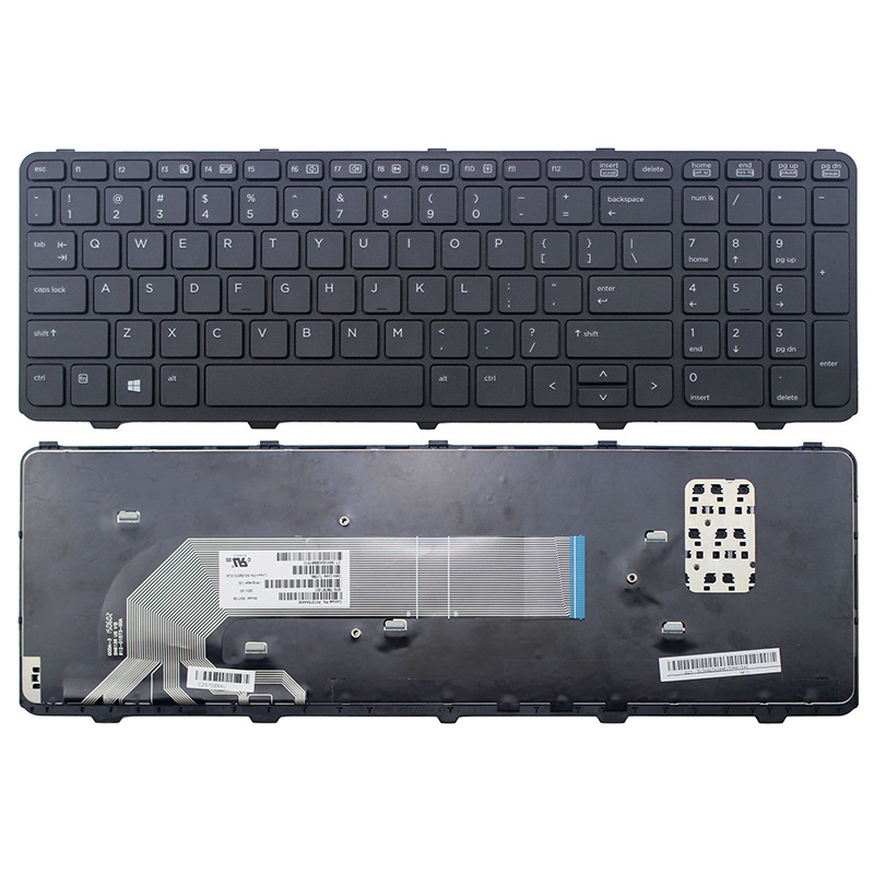 HP 450 G1 470 G1 US 727682-001 Keyboard Black