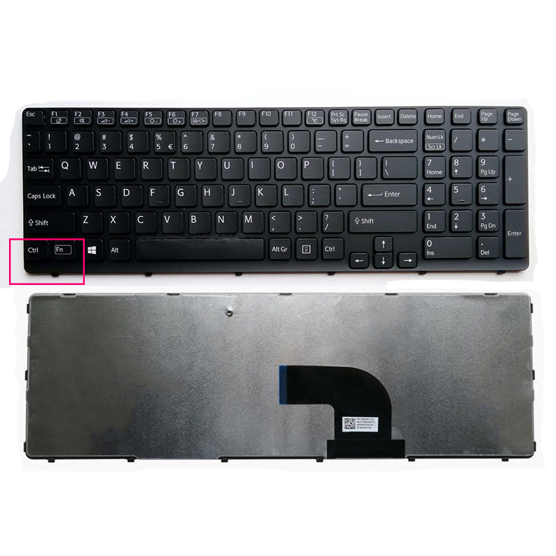 Sony SVE151 Keyboard Black