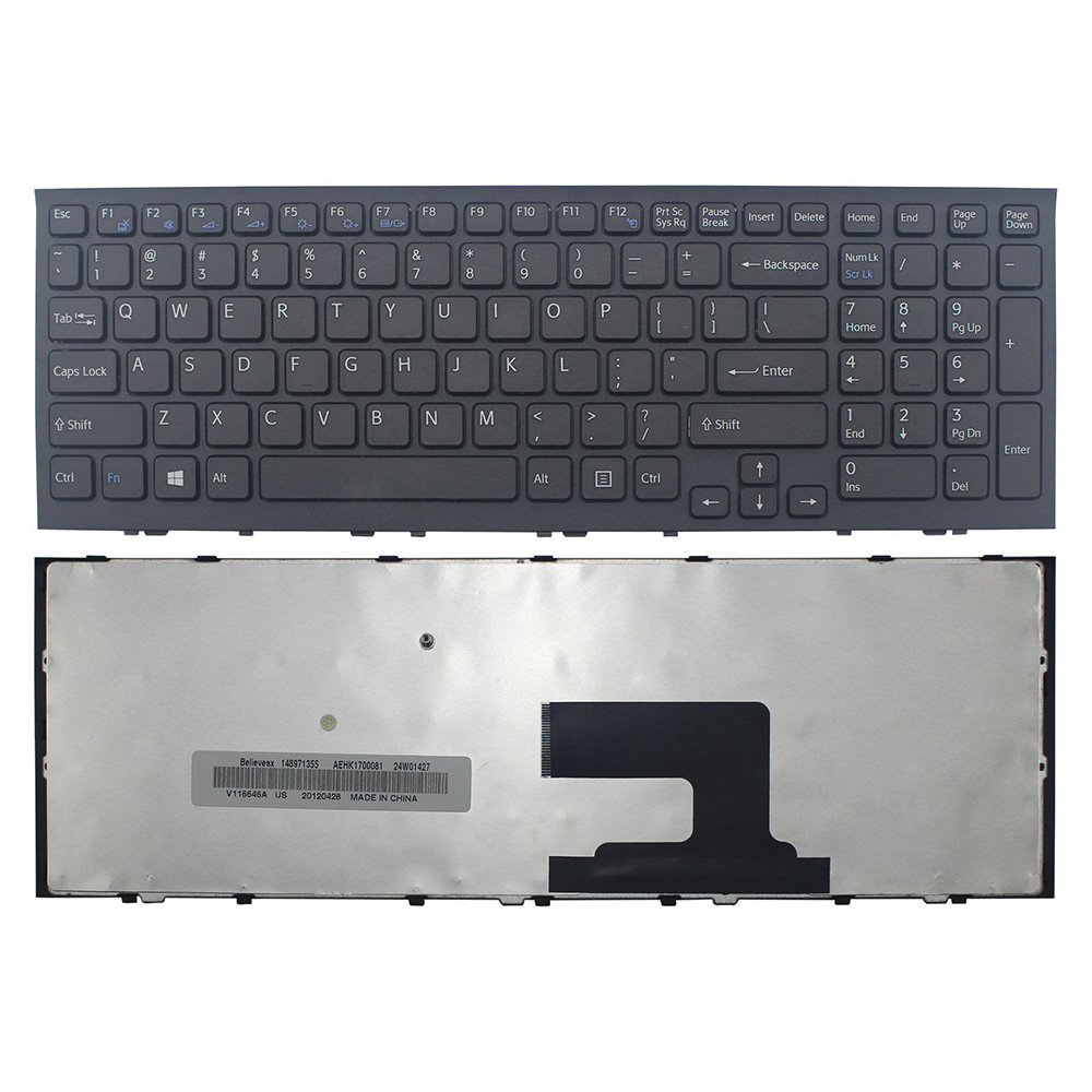 Sony EH PCG 71811W Keyboard Black