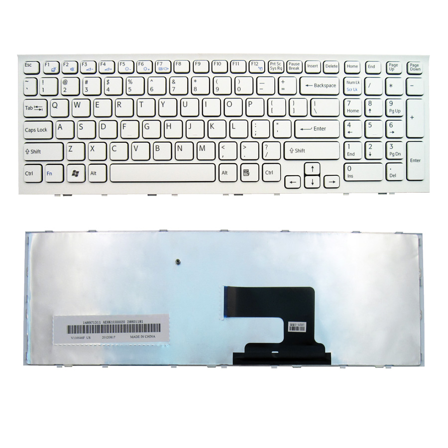 Sony EH PCG 71811W Keyboard White