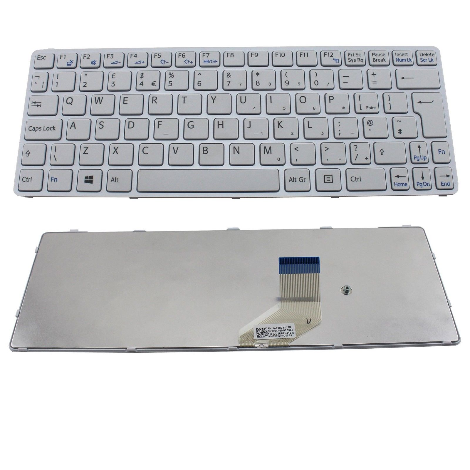 SONY SVE11 Keyboard White