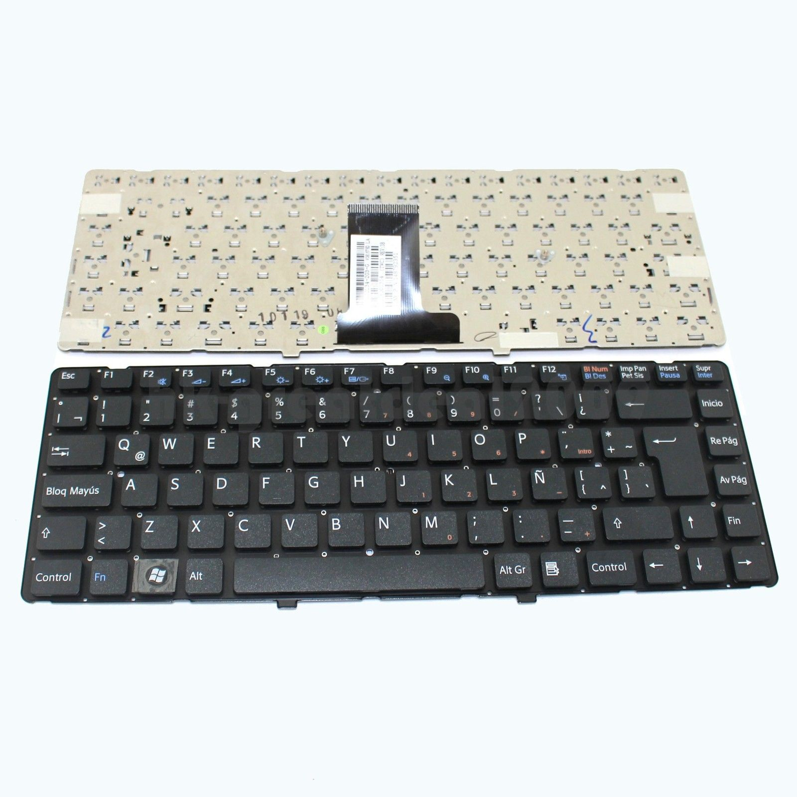 SONY EA no frame Keyboard Black