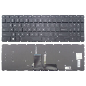 Toshiba L50-B Keyboard Black