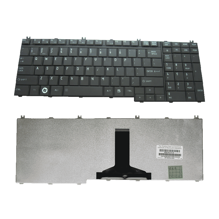 Toshiba L500 Keyboard Black