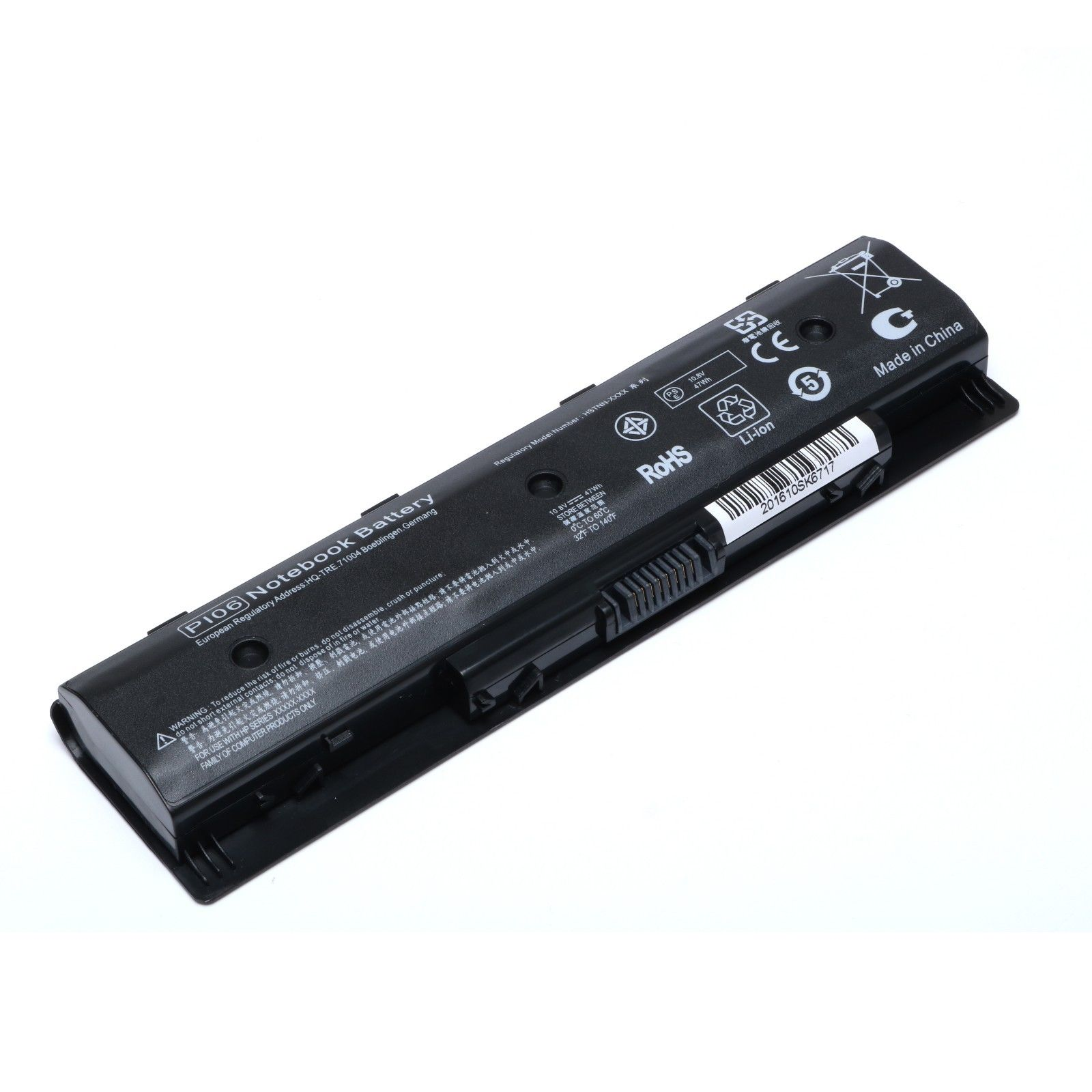 OEM HP Pavilion PI06 Battery