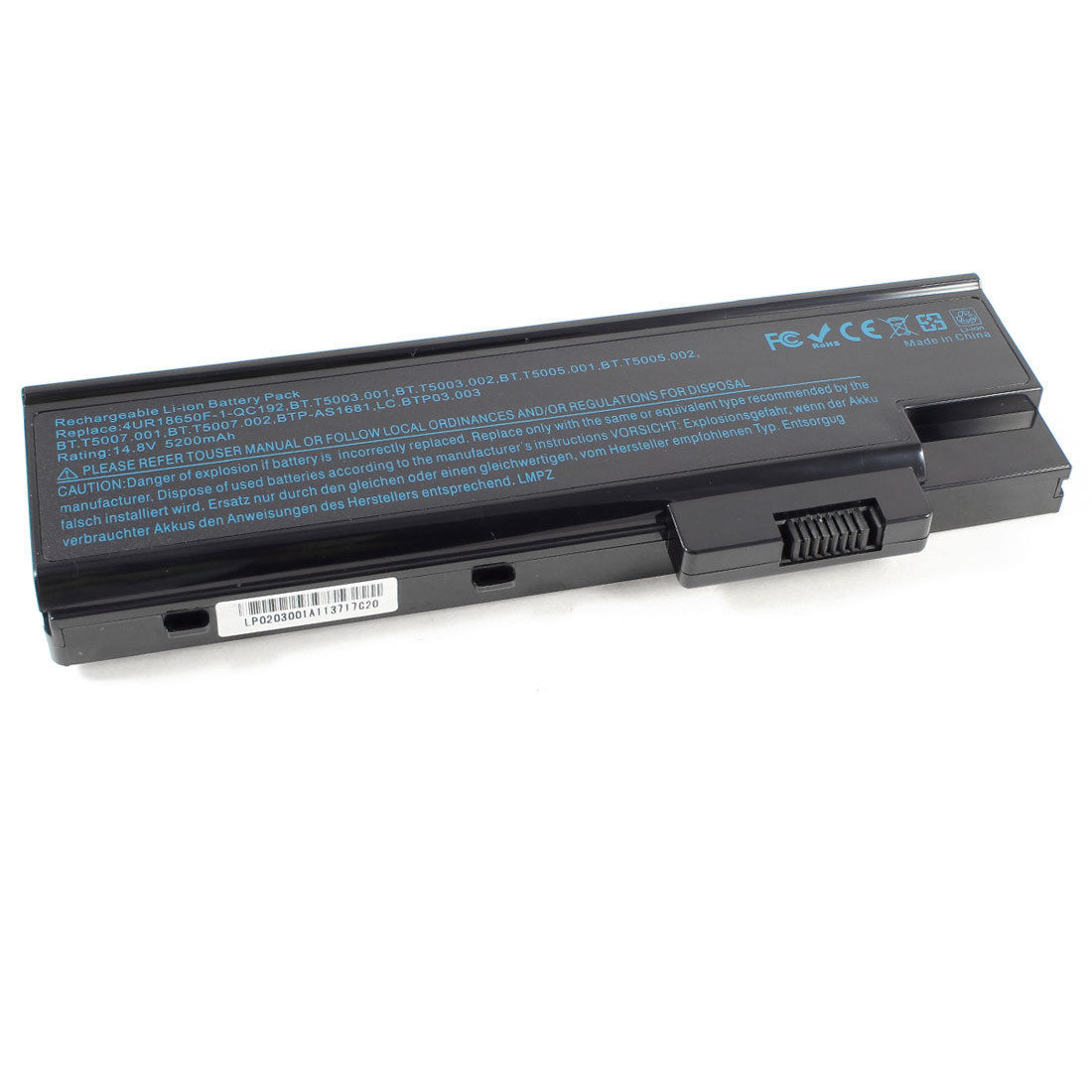 Acer 1.11v 4400mah TM4000 Battery