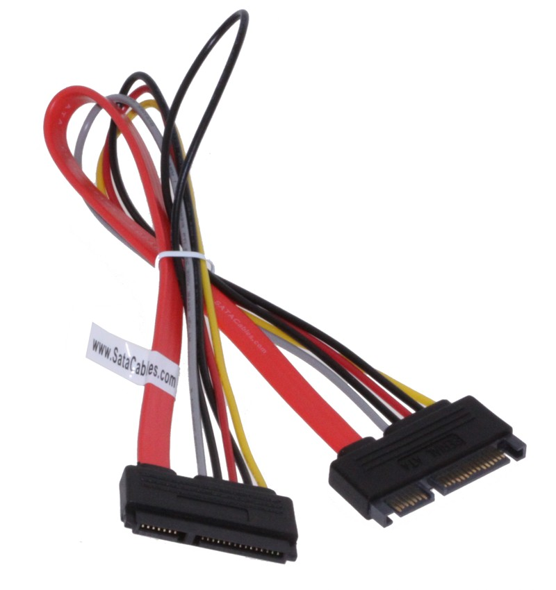 15pin SATA to SATA Extension Cable 0.5m