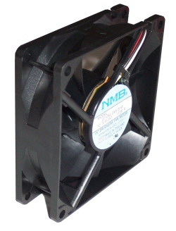 Case Fan  8*8 cm black