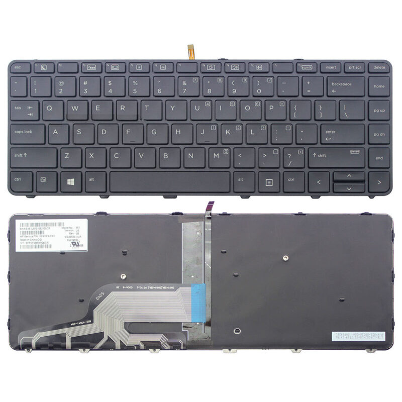 HP Probook 430 G3 440 G3 445 G3 black US Keyboard
