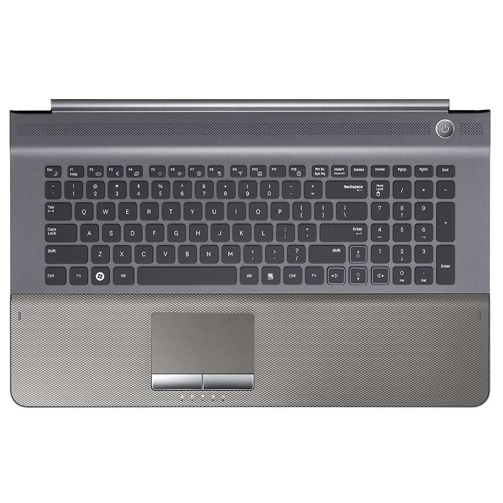 Samsung NP-RC720 NP-RC710 Keyboard With Case & Touch Pad