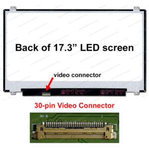 "17.3"" LED HD+ GLOSSY DISPLAY SCREEN NT173WDM-N11"