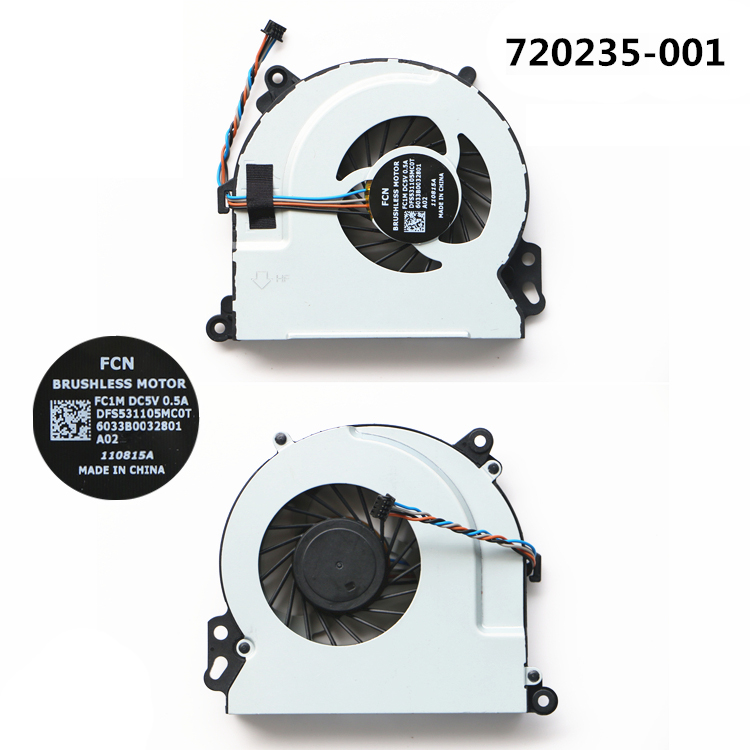 HP Pavilion 15-P 15P series 762505-001 767776-001 773447-001 CPU fan