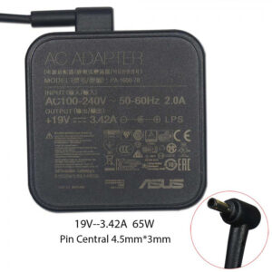 Original ASUS 19V 3.42A Adapter (4.5*3.0mm)