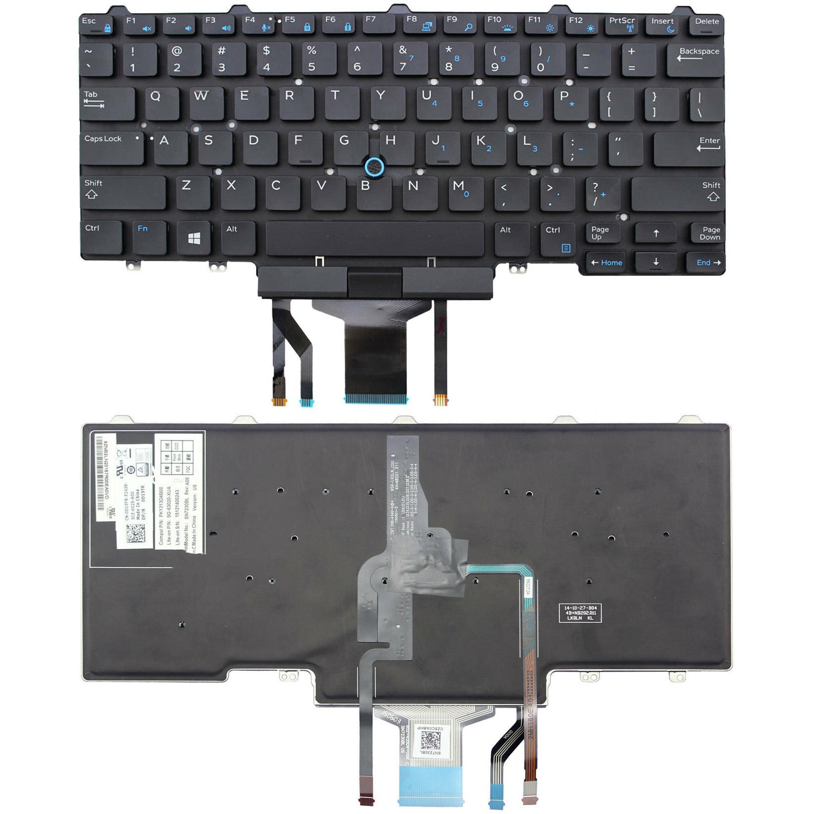 Dell Latitude E5450 E7450 E5470 E7470 E7480 Keyboard