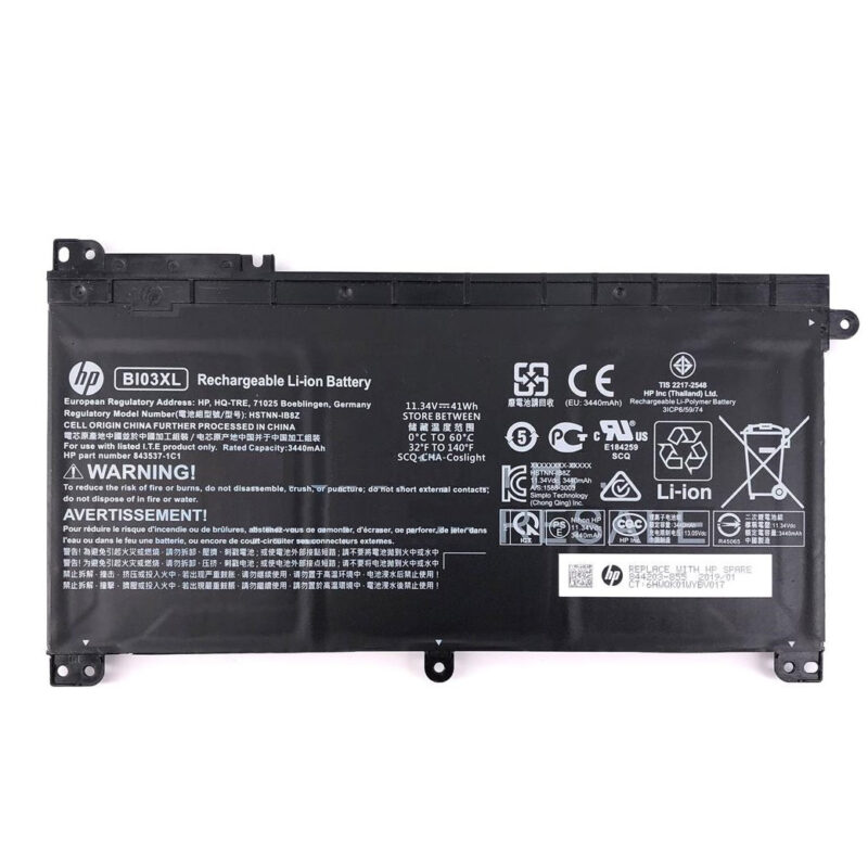 Original BI03XL Battery for HP Pavilion X360 13-U