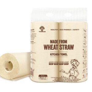 Wholesale-Wheat Straw Kitchen Towel 12 Packs/CTN
