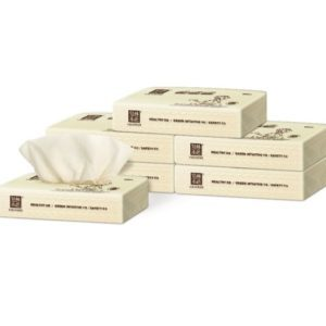 Wholesale-Wheat Straw Facial Tissue 60 Bags/CTN